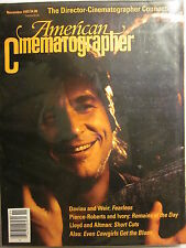 AMERICAN CINEMATOGRAPHER Magazine 11/1993: Fearless, Even Cowgirls Get The Blues