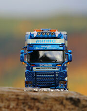 Aurmo Transport as Norvegia SCANIA R TL 6x2 + TRAILER 3a (WSI 1:50)