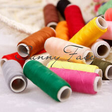 Colour Assorted Spools Cotton Thread Sewing Machine Finest Quality 24 Rolls