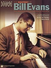 The Mastery Of Bill Evans Learn to Play Jazz Blues Piano Lesson Music Book