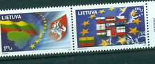 BANDIERE - FLAGS LITHUANIA 2004 U.E. Entry set