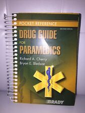 Drug Guide For Paramedics - Richard Cherry Second Edition Free S/H Used