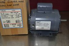 A.O. Smith C461 Capacitor Start Resilient Base Motor 1/2HP 115/230 Volts 1725RPM