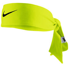 New Womens Nike Head Tie Dri Fit 2.0 Volt Headband Tennis Running
