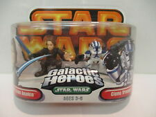 Star Wars Galactic Heros Dark Side Anakin & Clone Trooper