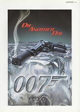 "2003 Vintage JAMES BOND ""007 Die Another Day"" Smoking Gun MINI POSTER Lithograph"