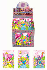 6 Princess Mini Note Books -  Toy loot/Party Bag Stocking Filler