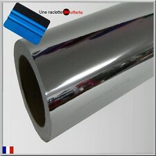 film vinyle chrome thermoformable sticker adhésif covering 152cm x 10cm