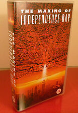 "VHS TAPE: THE MAKING OF ""INDEPENDENCE DAY""(1997) 20th CENTURY-FOX VIDEO CASSETTE"