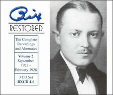 Bix Restored, Vol. 2 [Box] by Bix Beiderbecke (CD, Aug-1999, 3 Discs, Origin...