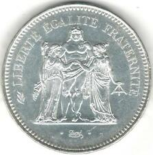 TMM* 1977 Uncertified Silver 50 Francs of France Ch Unc/PL