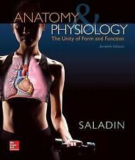 Anatomy and Physiology : The Unity of Form and Function by Kenneth Saladin (2014