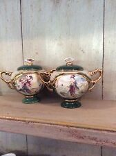 A Pair Of Ardleigh  Elliot - Beauties Of The Red Mansion - Porcelain Music Boxes