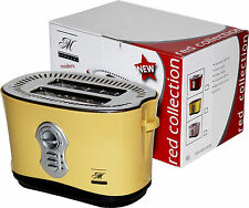 New Compact Design Extra Wide Adjustable Standard 2-slice Toaster 120V 800-Watt