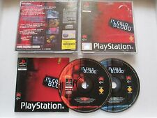 In Cold Blood For Sony Playstation 1 / PS1 Complete PAL - Thriller - 2000
