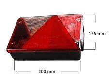 Aspöck Multipoint 4 IV PKW Anhängerleuchte Rückleuchte Leuchte Licht Stema Links