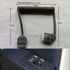 Audio AUX Cable Interface Adapter iPhone iPod For Land Rover Range Rover Jaguar