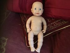 "PETERKIN GIRL FEMALE HARD BODIED 15""  DOLL UNPLAYED WITH REBORN"