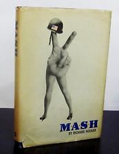 M*A*S*H by RICHARD HOOKER HCDJ - BCE - KOREAN WAR CLASSIC / HIT MOVIE & TV SHOW