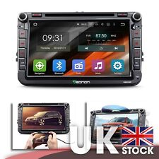 "Android 5.1.1 8"" Car GPS w  Mutual Control EasyConnection for Volkswagen VW"