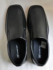 Men's Dress Shoes Size US 8.5 Black EUR 41.5 Loafers Slip-On Hunter's Bay HB New