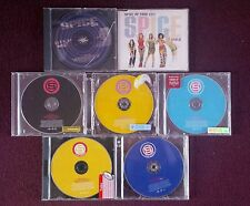 7 x assorted  Spice girls cds and s club 8 and juniors cds