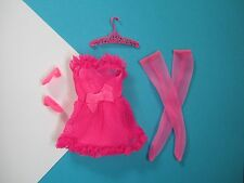 Barbie Vintage FRANCIE Complete Outfit PINK POWER #1762 Free Shipping USA
