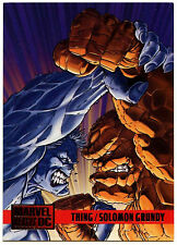 Thing / Solomon Grundy #83 DC Versus Marvel Comics Trade Card (C293)