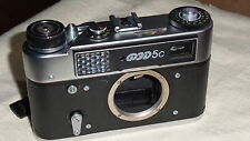NEW FED 5C, 5 C, 5S Russian  M39 mount camera BODY only & manual  4684
