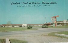 LAM(Y) New Castle, IN - Cardinal Motel and Raintree Dining Room - Street View