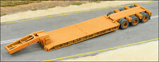 HO 1/87 GHQ # 62001  3-axle Lowboy Heavy Haul Trailer Kit