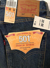 Levi's 501 Selvedge Jeans - White Oak Cone Denim - Size 30x32
