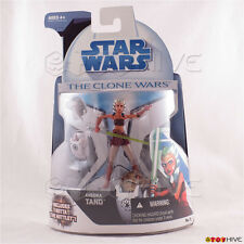 Star Wars The Clone Wars 2008 Ahsoka Tano with Rotta Huttlet #9 action figure