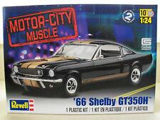 REVELL (1966) '66 SHELBY MUSTANG GT 350H (HERTZ) (FORD) MODEL KIT (OPENED)