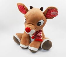 Rudolph, The Red-Nosed Reindeer, LARGE 14 inch (35.56 cm) Plush Toy, NEW!
