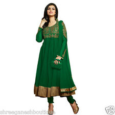 Indian Stylish Designer Bollywood Party Anarkali Salwar Suit Kameez Women Ladies