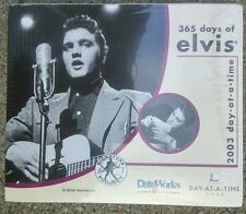 2003 Day At A Time Calendar 365 DAYS OF ELVIS Alfred Wertheimer Photos *SEALED*