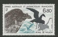 FSAT/TAAF 1988 Wilson's Petrel--Attractive Bird Topical (139) MNH