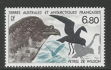 FSAT/TAAF 1988 Wilson's Petrel--Attractive Bird Topical (139) MNH