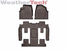 WeatherTech Floor Mats FloorLiner for GMC Acadia w/Buckets - 2011-2016 - Cocoa
