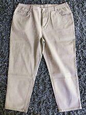Big&Chic Jeans-Stretch-Hose,DIE BEQUEME,beige/taupe,weites Bein,28-Länge,Gr.52