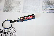 Supreme SS14 Metal Box Logo .44 Bullet Knife Keychain