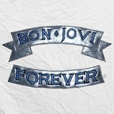 Jon Bon Jovi Forever Embroidered Big Patches New Jersey Jacket Sambora Richie