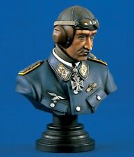 Verlinden 200mm (1/9) Adolf Galland Luftwaffe Ace WWII Bust Set (2 busts) 1341