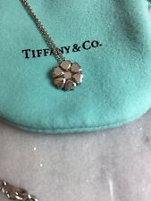 Authentic Tiffany & Co. Paloma's Crown of Hearts Pendant Necklace