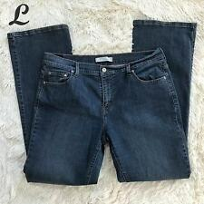 Levis Womens Jeans Boot Cut 515 Mid Rise Cotton Stretch Red Tag Size 14 Long EUC