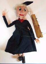 CLASSIC VINTAGE PELHAM PUPPET TOY SCARY WITCH WITH MOVING MOUTH - NO BOX