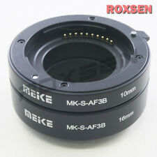 MeiKe Automatic Auto Focus af Macro Extension Tube Adapter for Sony NEX E mount