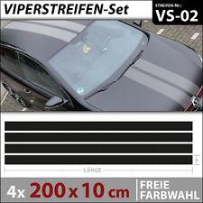 Viperstreifen Autoaufkleber Rennstreifen Aufkleber Car Tuning Streifen . VS-02