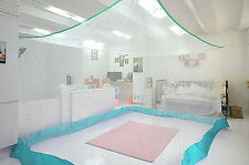 """142""""x 83""""x 75 Mosquito Net Bedroom Insect Canopy Camping Netting Large White"""